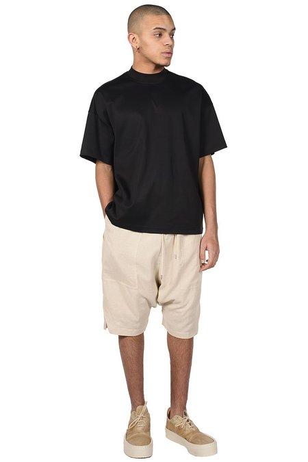 JOE CHIA Drop Crotch Shorts - Dune