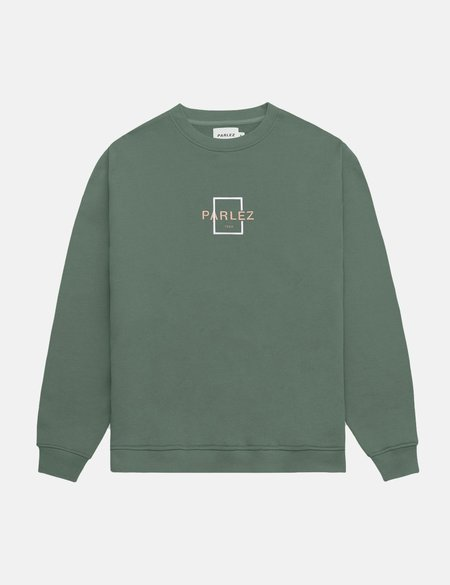 Parlez Offshore Crew Sweatshirt - Light Khaki