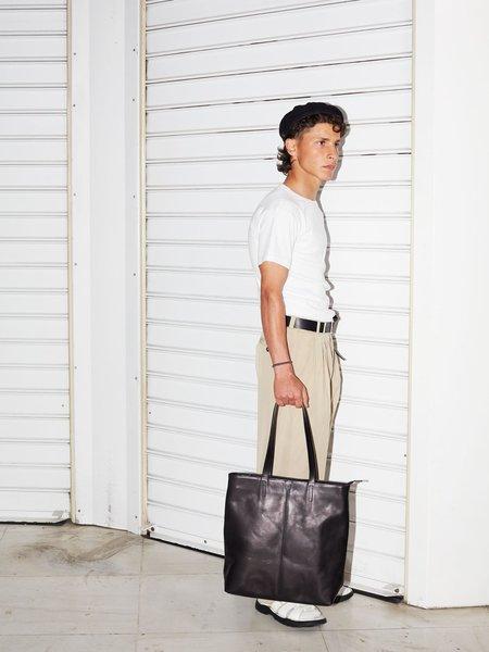 Unisex Park Bags TB02 ZIP TOTE BAG - BLACK