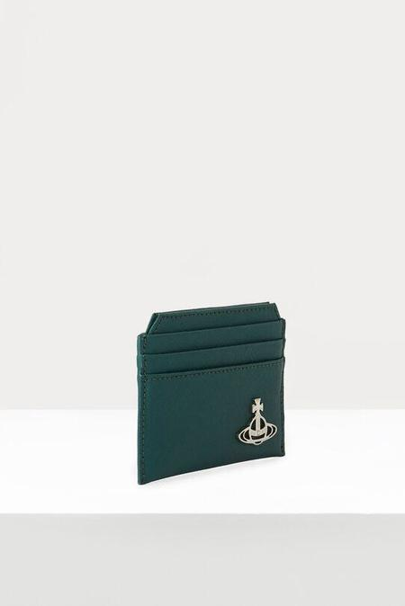 Vivienne Westwood Kent Slim Card Holder - Green