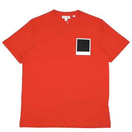 Lacoste x Polaroid top - red