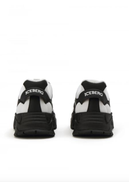 Iceberg Panda Sneakers - black/white
