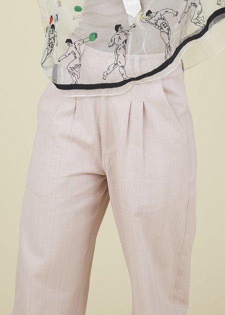 Mii Collection Organic Cotton Denim - pink