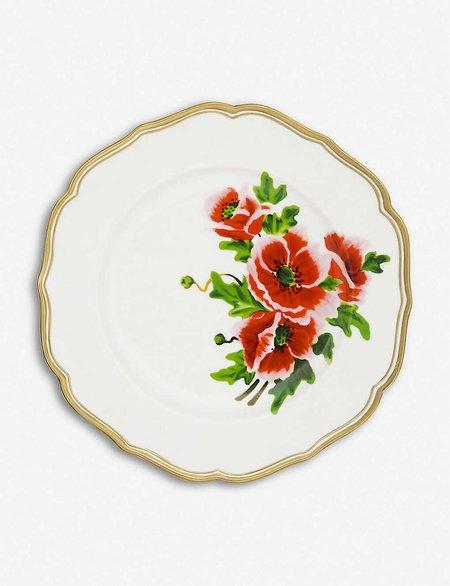 Bitossi French Flower Dinner Plate