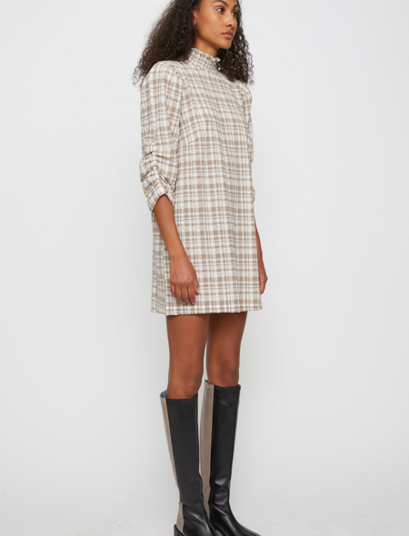 Just Female Hamilton Dress - Check