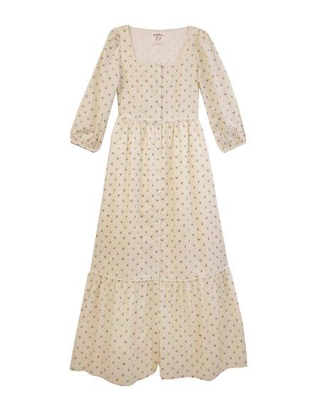 Meadows Ixora Dress - Winter Ditsy