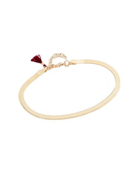 Shashi Lady Bracelet - 18K Gold Plated