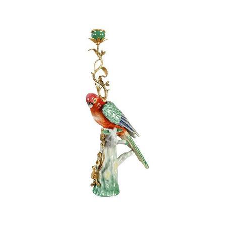 &Klevering Parrot Candle Holder
