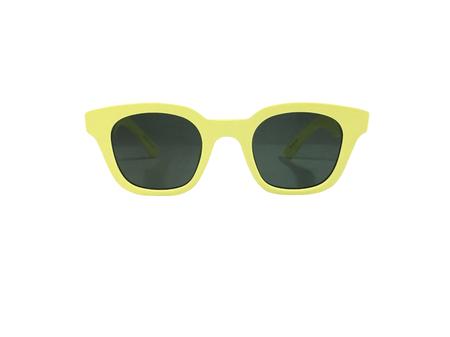CARLA COLOUR Warsaw Sunglasses - Acid Yellow