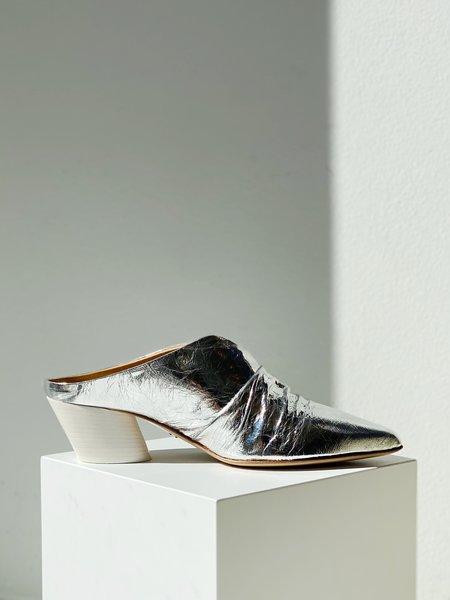 Halmanera Ginny Slide - Metallic Silver
