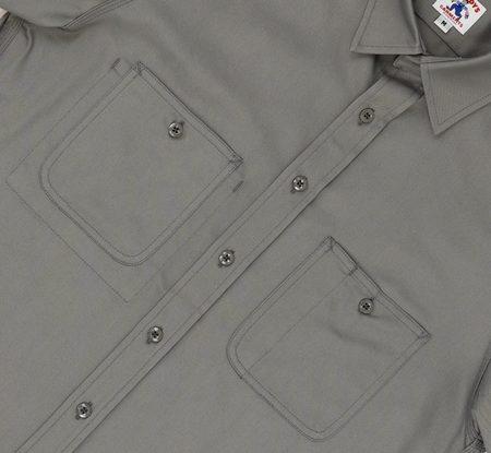 Randy's Garments Short Sleeve 3 Pocket Work Shirt - Gray