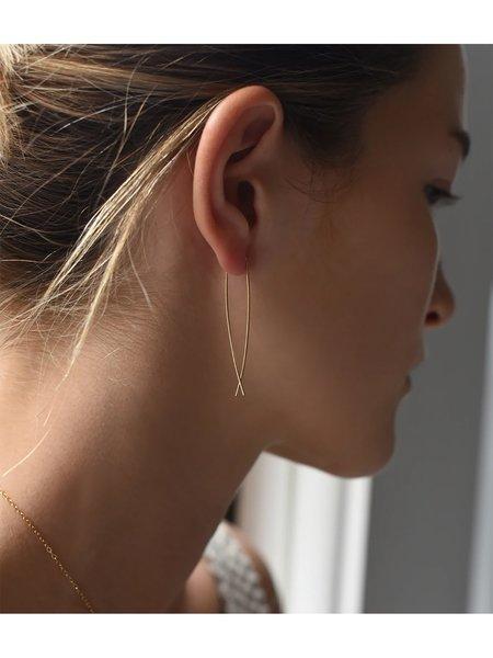 8.6.4  Large Threader Earrings - 14K Gold Filled