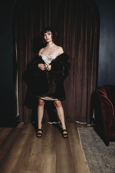 Paloma Wool altavista dress - plata