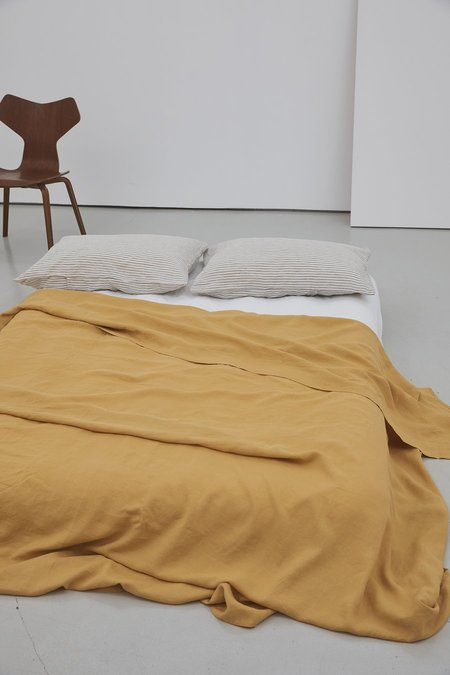 Deiji Studios Flat Sheet - Mustard