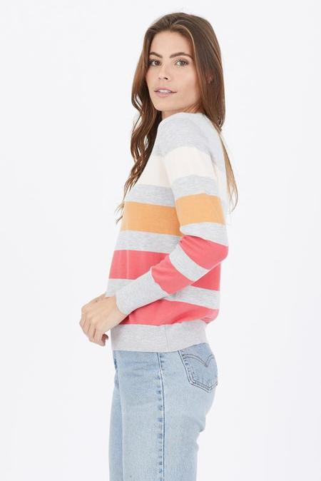One Grey Day Ruby Pullover - Silver Multi