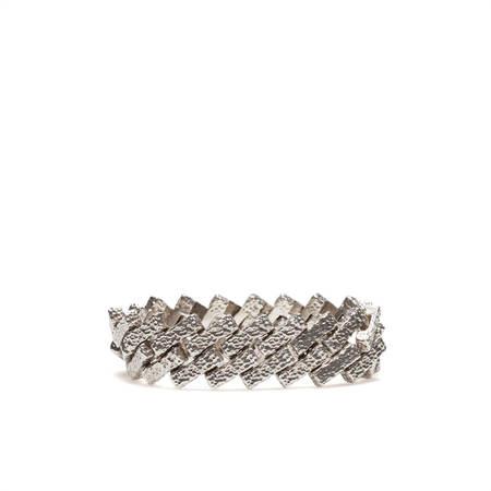 Unisex DI.TO Maze bracelet - silver