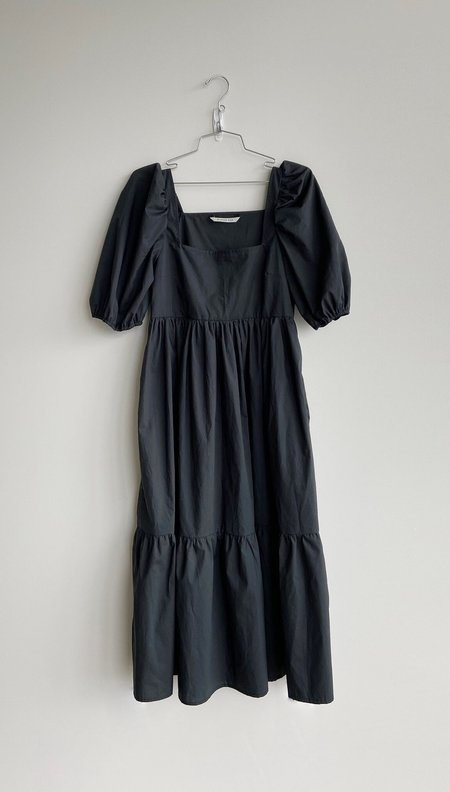 Bronze Age Serenity Puff Sleeve Dress