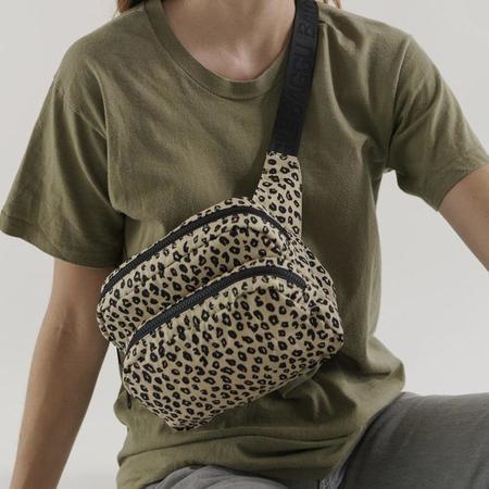 BAGGU Fanny Pack All Black Strap bag - Leopard