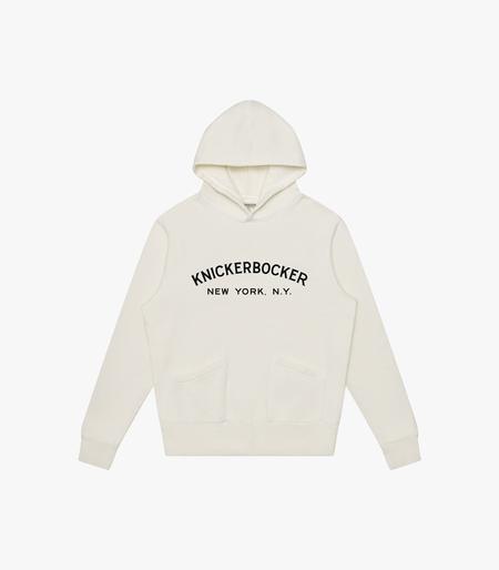 Knickerbocker Core Logo Standard Hoody - Milk