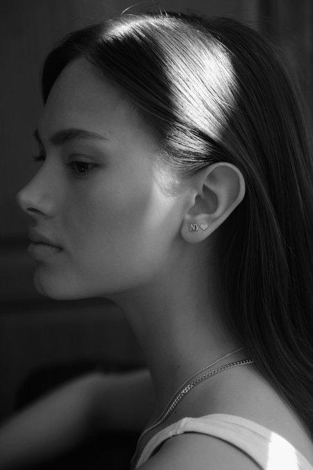 Nina Kastens NY Stud - Silver