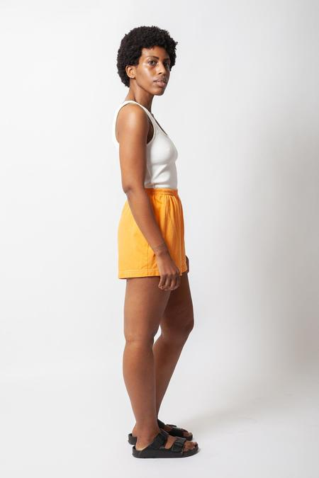Gravel & Gold Jersey Short - Creamsicle