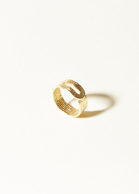 COG Hitched Ring - 14G gold