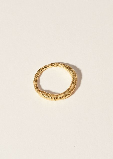 COG Salt Ring - 14K G Plate