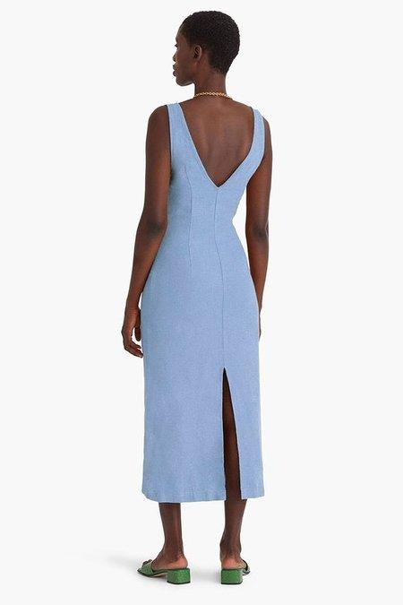 Paloma Wool Emma Linen Dress - Light Blue