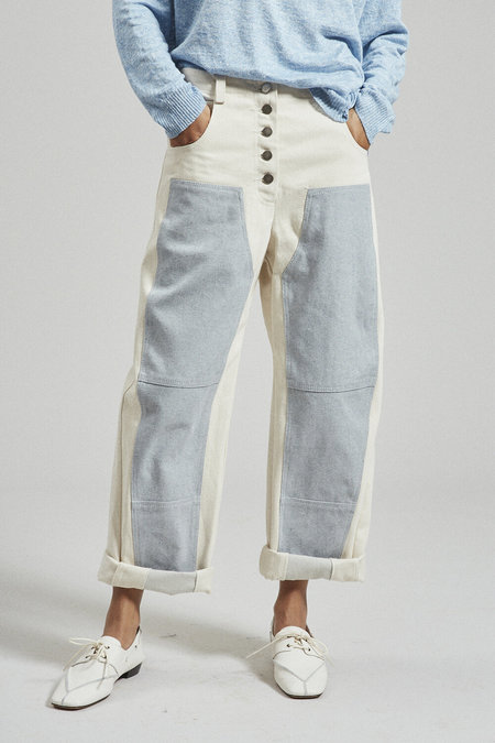 Rachel Comey Handy Pant Upcycled Denim - Natural
