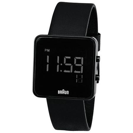 Braun Digital Watch - Black