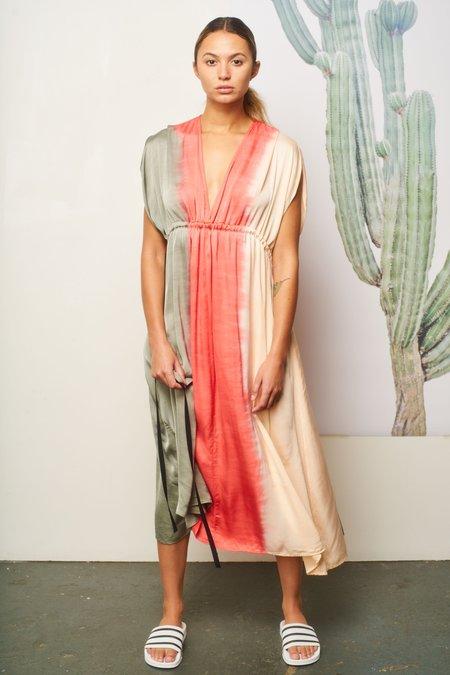 AqC VENUS dress - Tri Dye