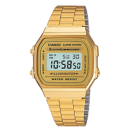 CASIO GOLD EDITION DIGITAL (A168WG-9VT) - GOLD