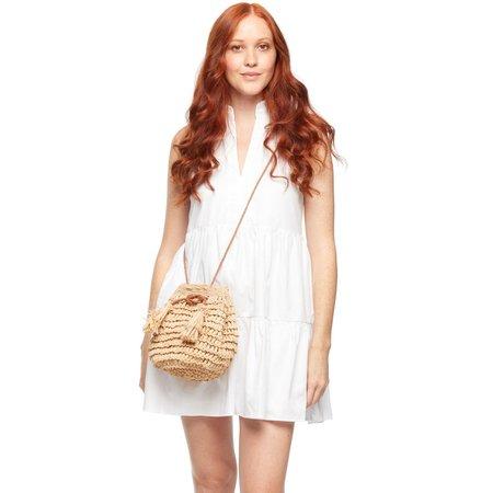 Mar Y Sol Olympia Crossbody Bag - Natural
