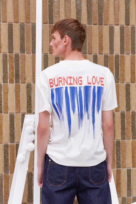 Henrik Vibskov Burning Love Tee - Off White
