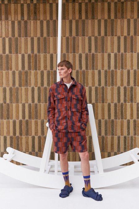 Henrik Vibskov Spyjama Shorts - Dark Orange