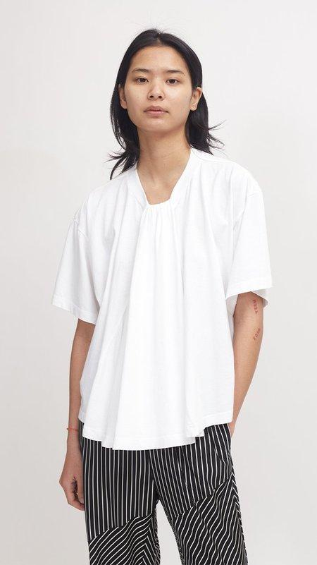 Maison Margiela Gathered Detail T-Shirt - White