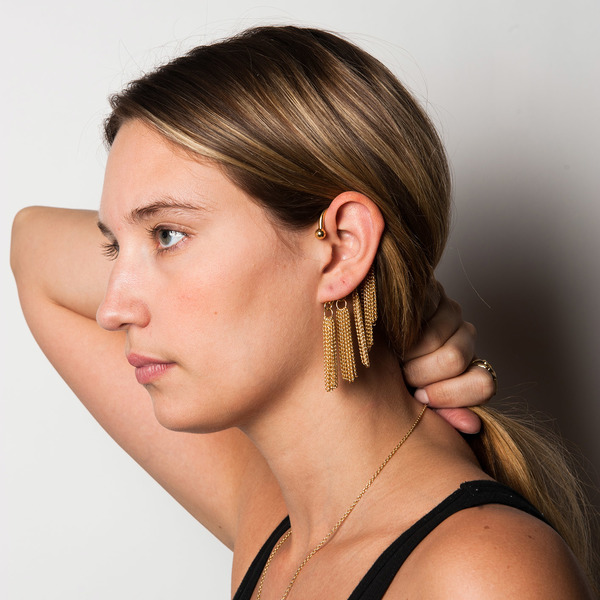 Psyche Ripple Ear Cuff