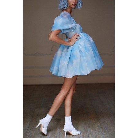 Selkie The Puff Dress - Clouds
