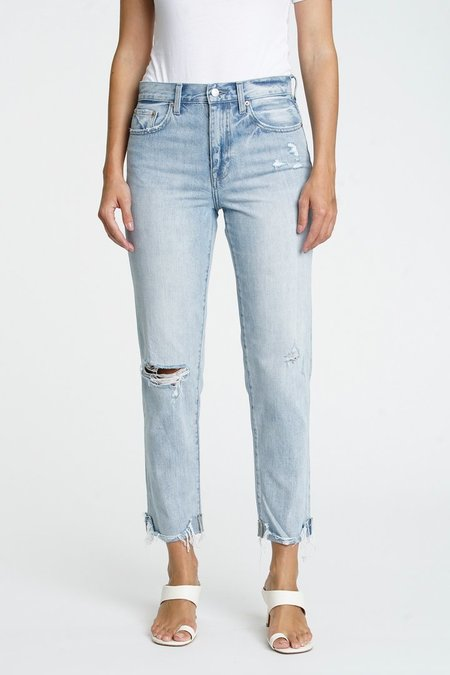 Pistola Presley High Rise Relaxed Roller Jeans - By My Side
