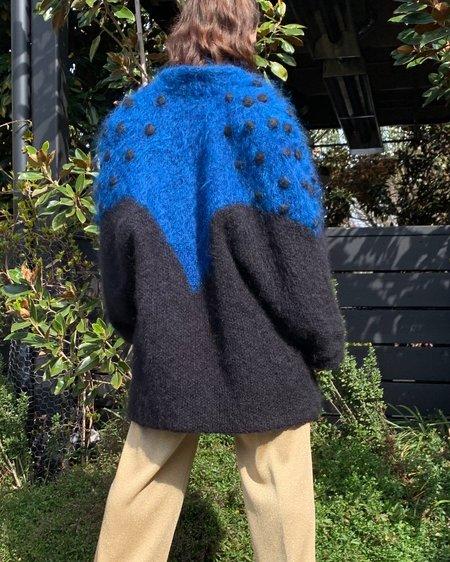 Vintage Textural Mohair Jacket