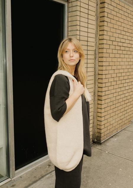Lauren Manoogian Interlock T Tunic - Carbon