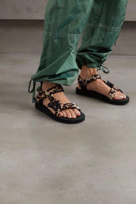 Arizona Love Trekky Sandals - Leopard Print
