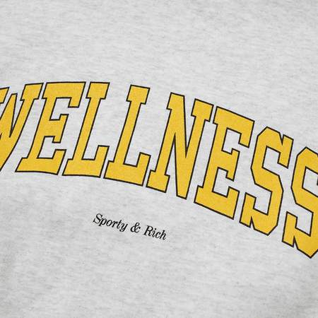 Sporty & Rich Wellness Ivy Crewneck - Heather Grey