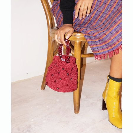 Suryo Bucket of Rubies Bag