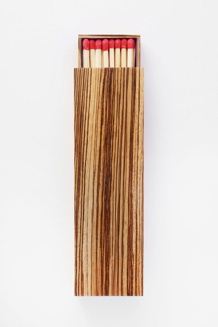 Glaze Large Wooden Matchbox