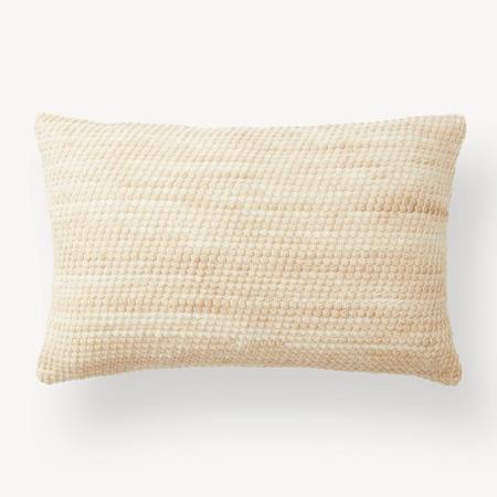 Minna Goods Sheila Lumbar Pillow - Wheat