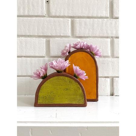 Mama Sun Ceramics Sinta Tall Arch Vase