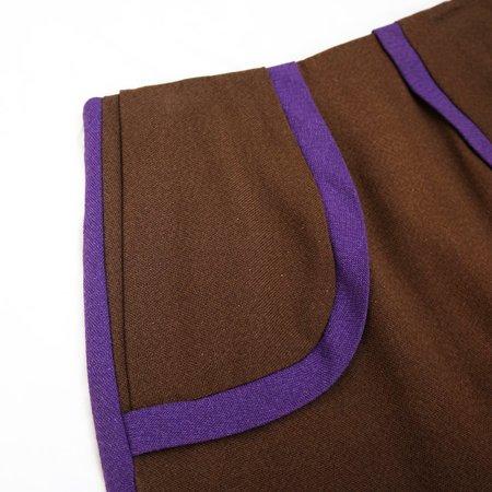 Vintage Mod Outline Skirt