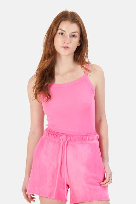 Cotton Citizen Verona Tank Top - hot Pink
