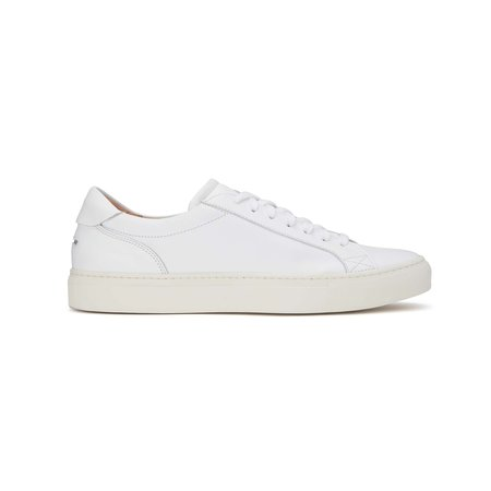 Unseen Helier Leather Sneakers - White